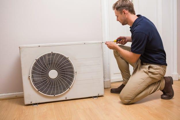 air conditioner repairing technician